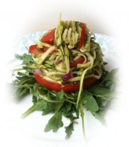 Raw Pasta: Courgetti & Pesto