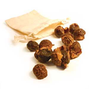 soapnut shells for washing laundry