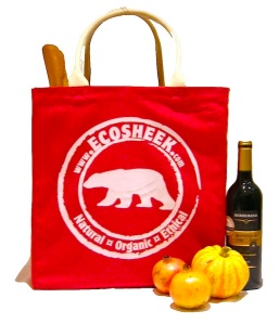 Ecosheek Organic Cotton Bags