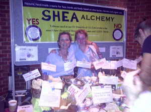 Sally & her lovely daughter @ Shea Alchemy