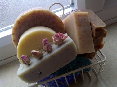 Natural handmade soap from Living Naturally